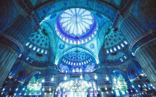 معماری مسجد آبی